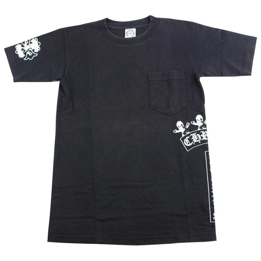 chrome hears x foti side pocket tee