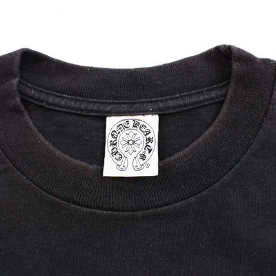 chrome hearts x foti side logo tee black - SaruGeneral