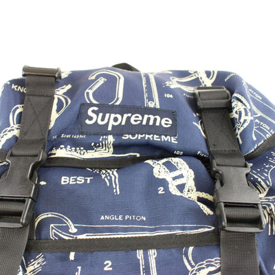 supreme piston and hammer backpack navy early 00s - SaruGeneral