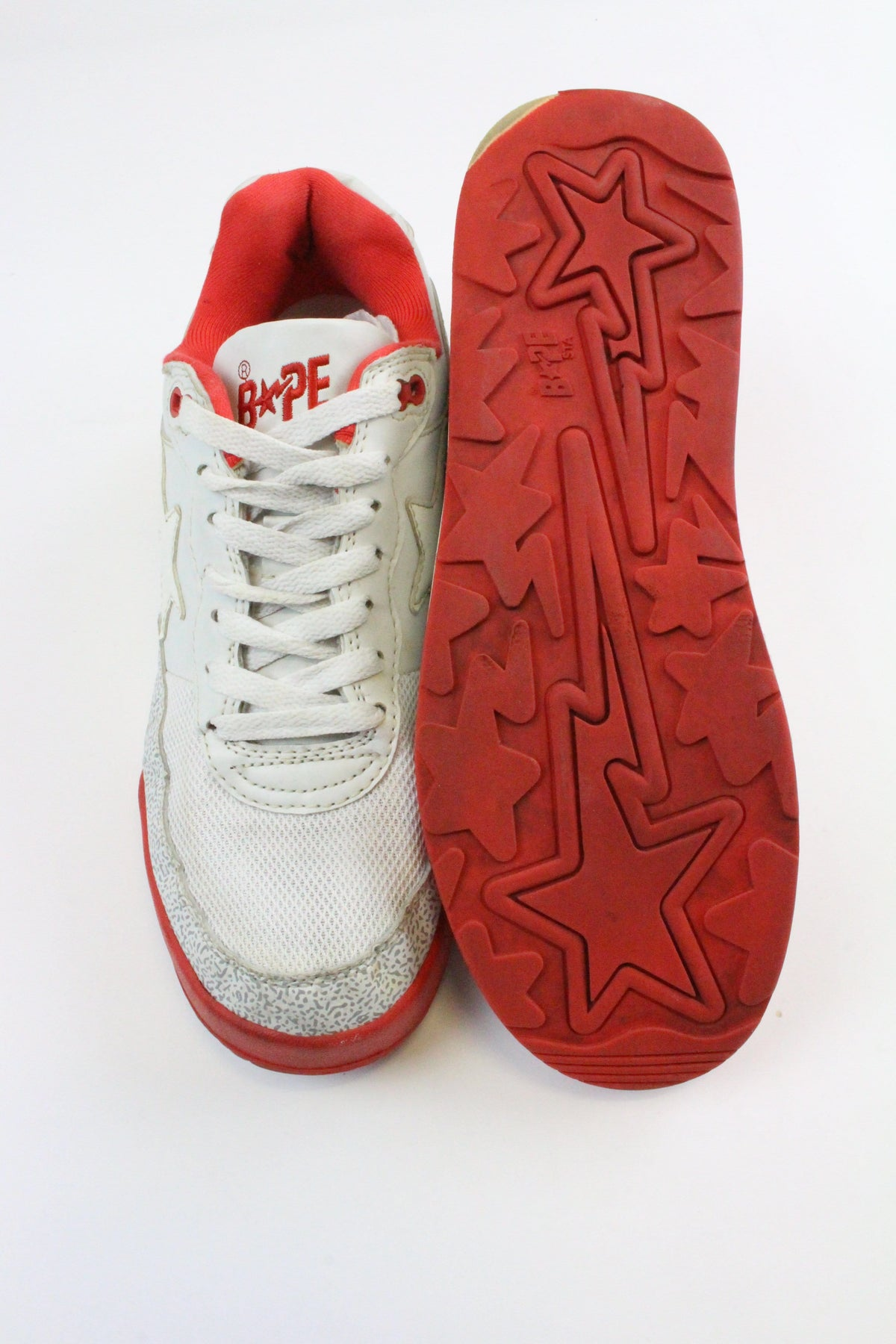 Bape Cement & Red Roadstas - SaruGeneral