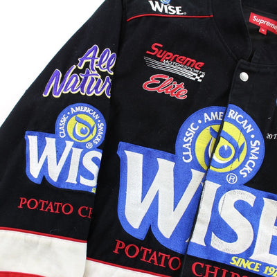 Supreme x Wise Racing Jacket Black