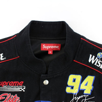 Supreme x Wise Racing Jacket Black - SaruGeneral
