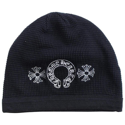 chrome hearts horseshoe beanie - SaruGeneral