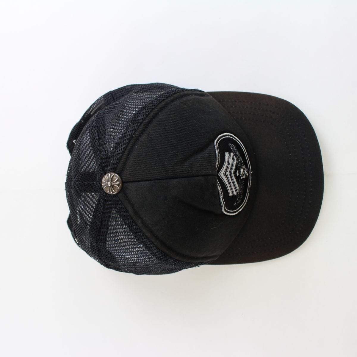 chrome hearts x foti trucker cap black - SaruGeneral