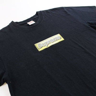 supreme bling box logo tee black 2013 - SaruGeneral