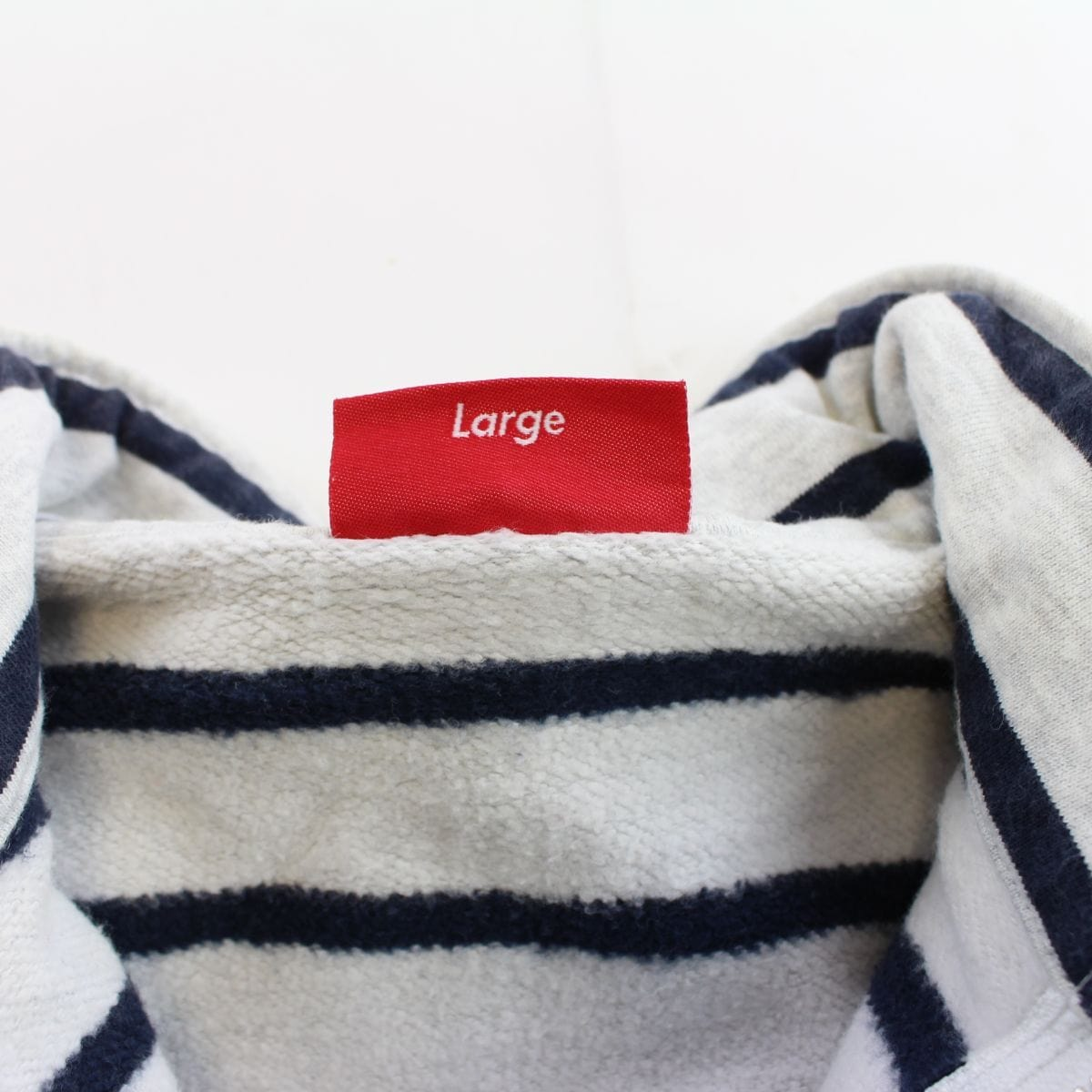 supreme stripe quarter zip jacket - SaruGeneral