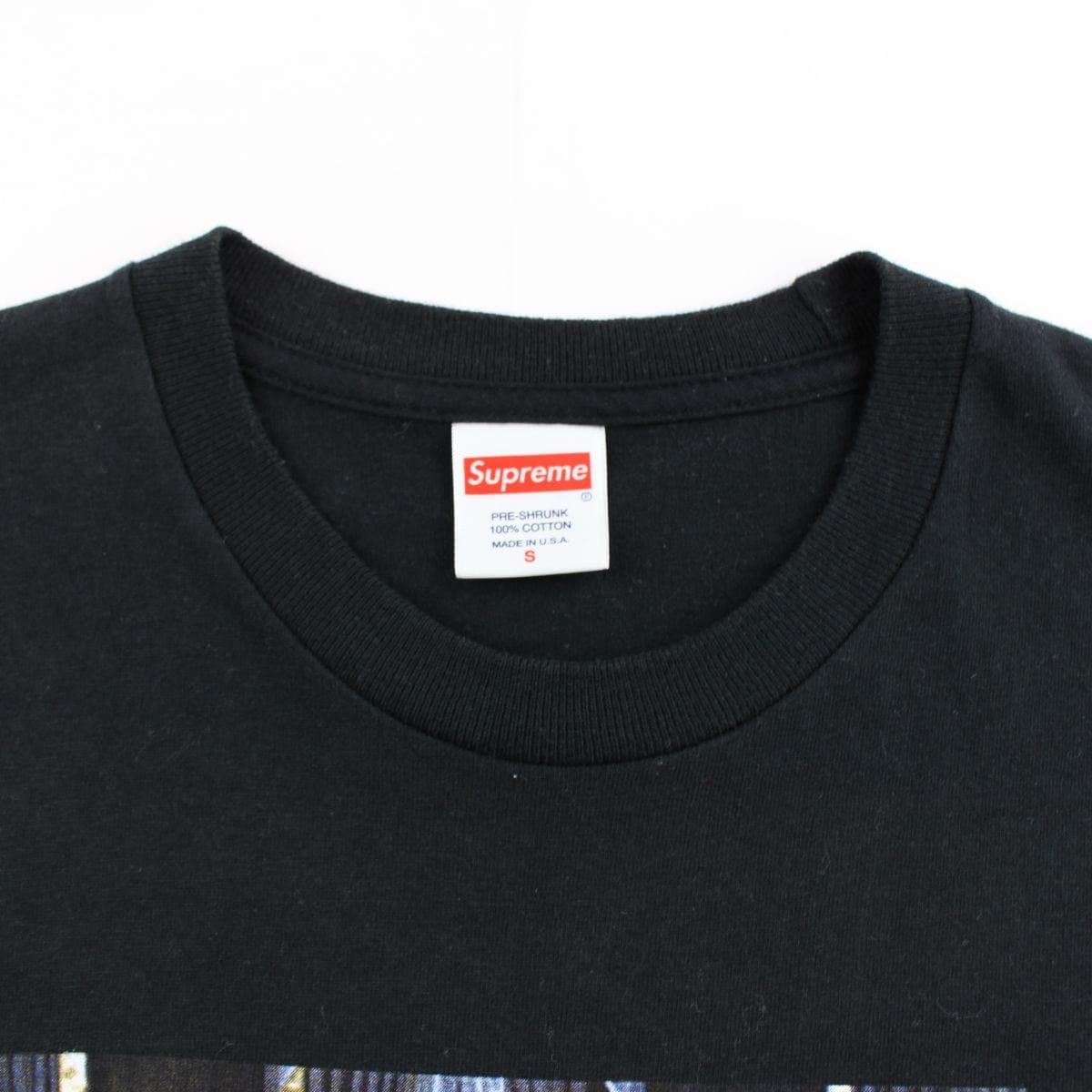 supreme x scarface tee black 2017 - SaruGeneral