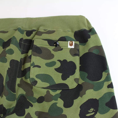 bape x champion 1st green camo sweatpants 2016 - SaruGeneral