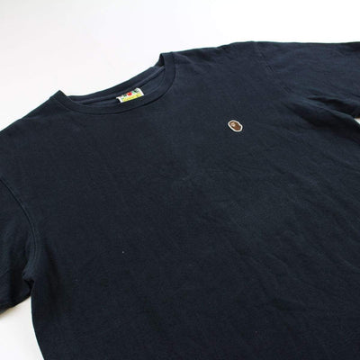 Bape Point head logo tee black - SaruGeneral