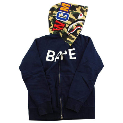 bape text shark black 1st yellow - SaruGeneral