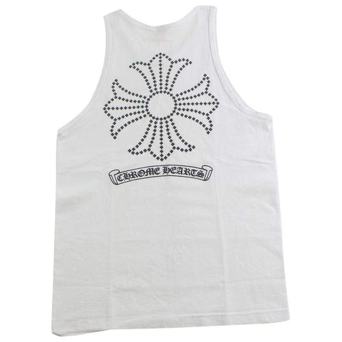 chrome hearts vest white - SaruGeneral