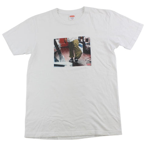 Supreme x Kids 40 Oz Tee White
