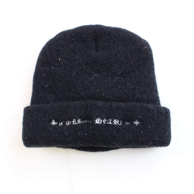 chrome hearts cross beanie black - SaruGeneral