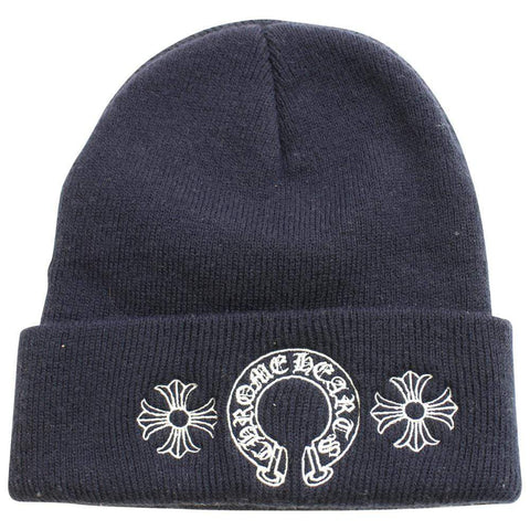 chrome hearts horseshoe beanie black - SaruGeneral