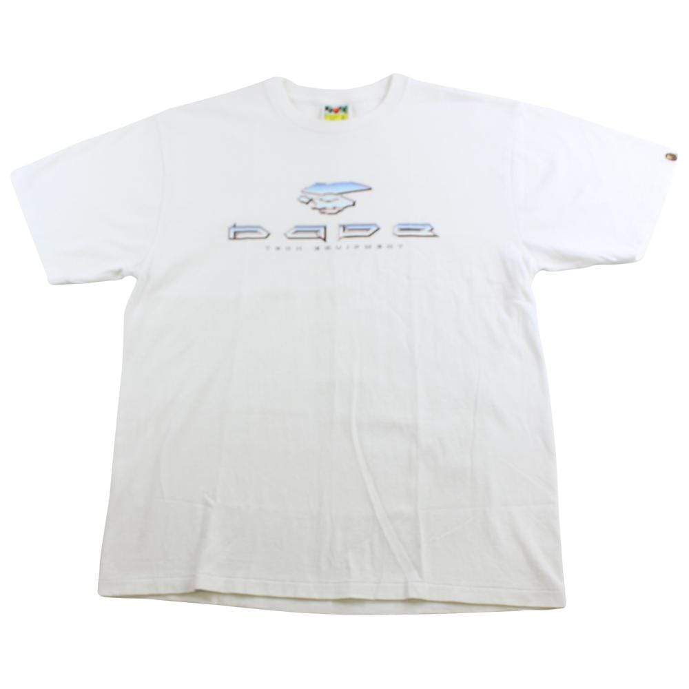 bape team equipment tee white - SaruGeneral