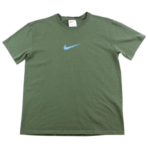Nike Centre Swoosh Tee Olive - SaruGeneral