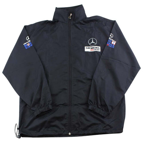 Mercedes Benz Mobil Racing Jacket Black - SaruGeneral