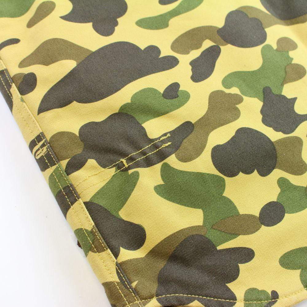 bape x carhartt 1st yellow camo vest 2005-06 - SaruGeneral