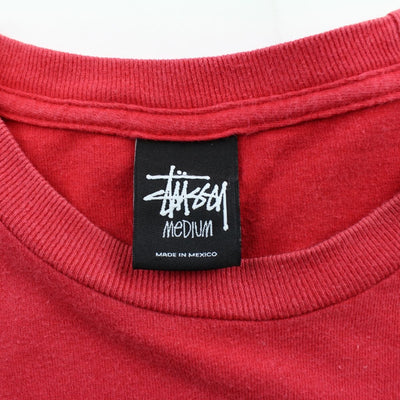 Stussy classic Logo Tee Red - SaruGeneral