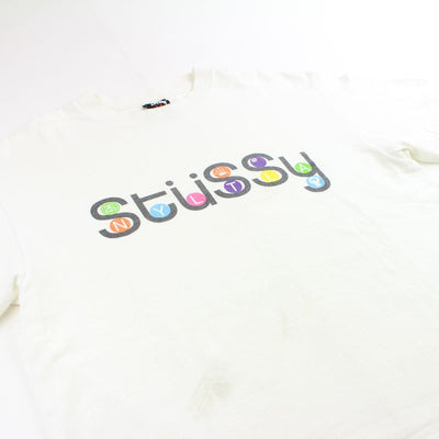 Stussy Subway Letters Logo Tee - SaruGeneral