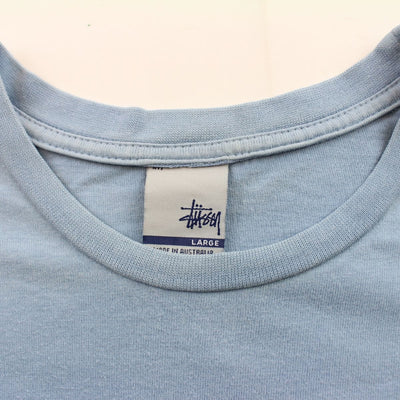 Stussy Car Logo Tee Baby blue - SaruGeneral