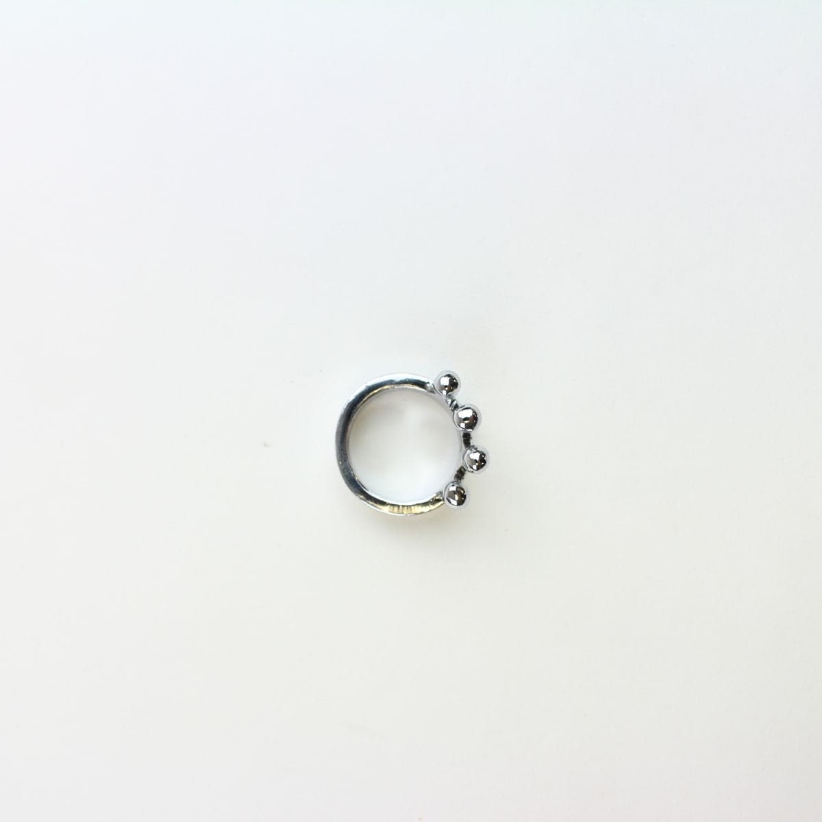 Stussy Silver Crown Ring - SaruGeneral