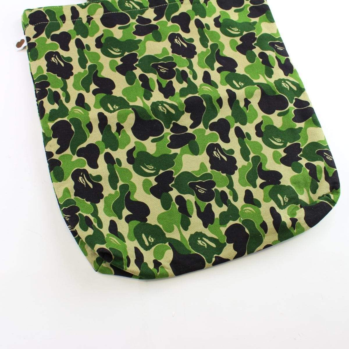 Bape ABC Green Camo Tote Bag - SaruGeneral