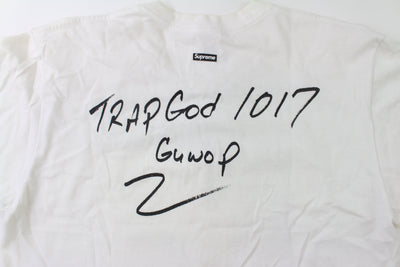 Supreme x Gucci Mane Tee White - SaruGeneral