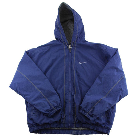 Nike Swoosh Logo Jacket Navy Blue