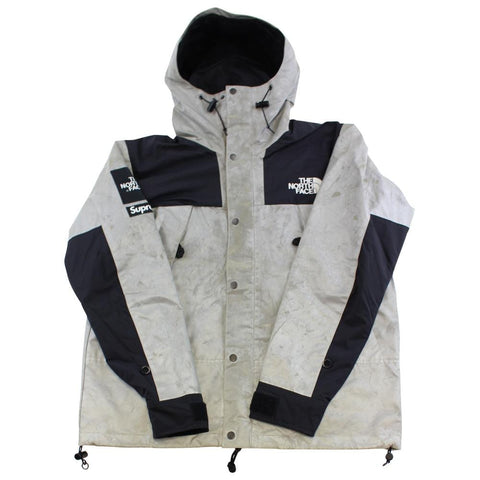 Supreme TNF 3M Jacket Silver 2