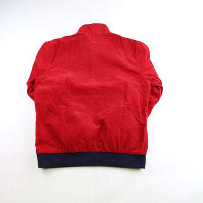 supreme red corduroy pullover