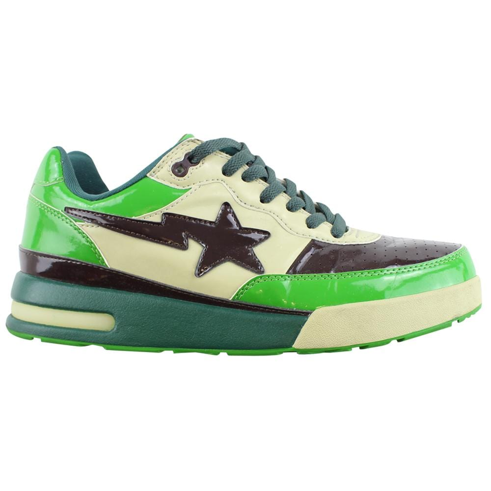 Bape Roadsta Green & Brown - SaruGeneral