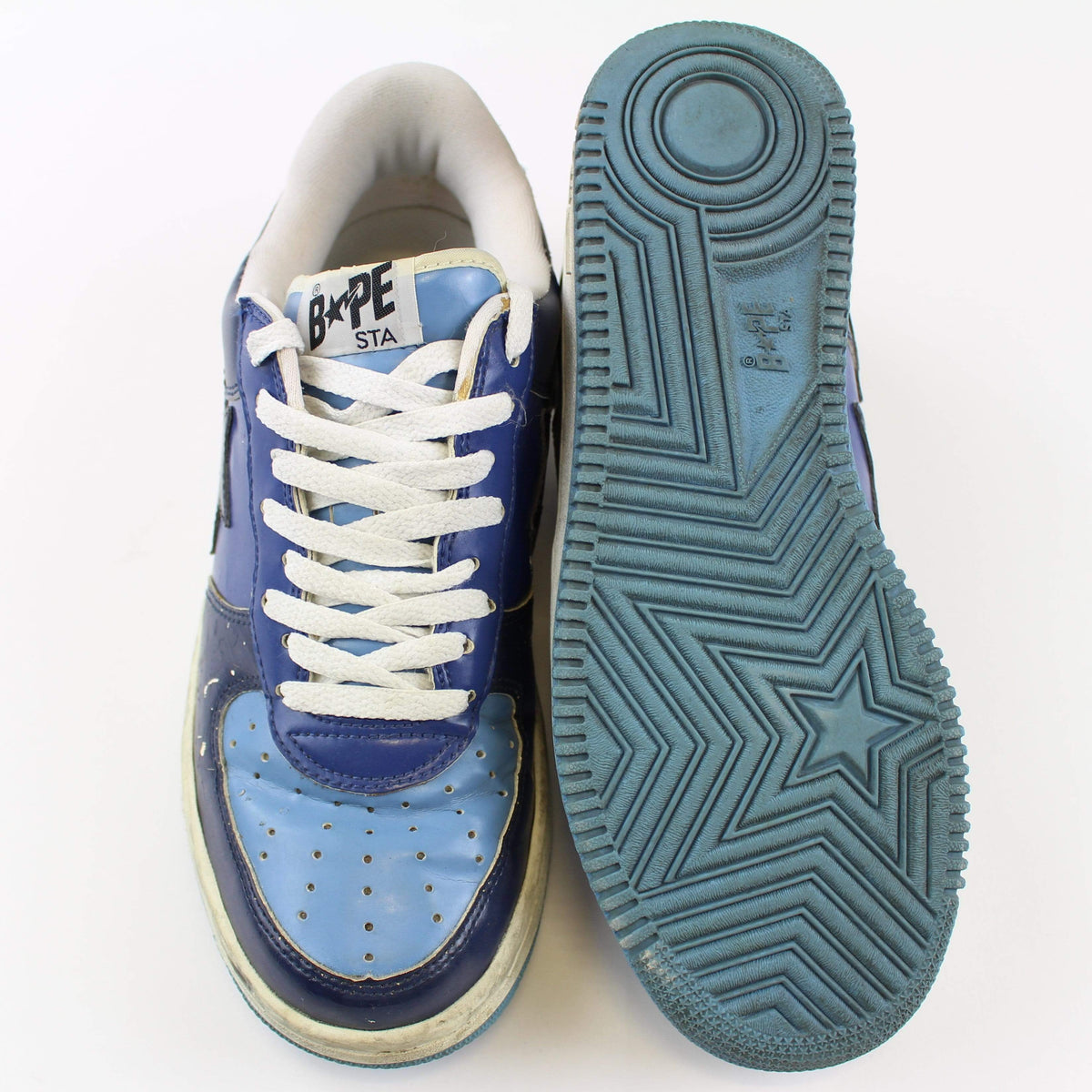 Bapesta Navy & Light Blue - SaruGeneral