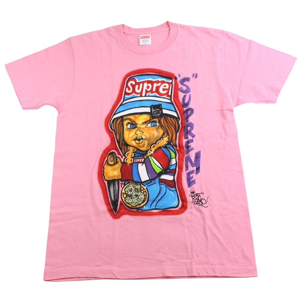 supreme chucky tee pink DS