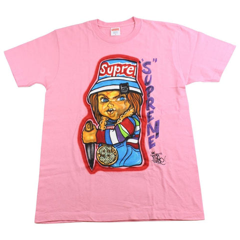 supreme chucky tee pink DS - SaruGeneral