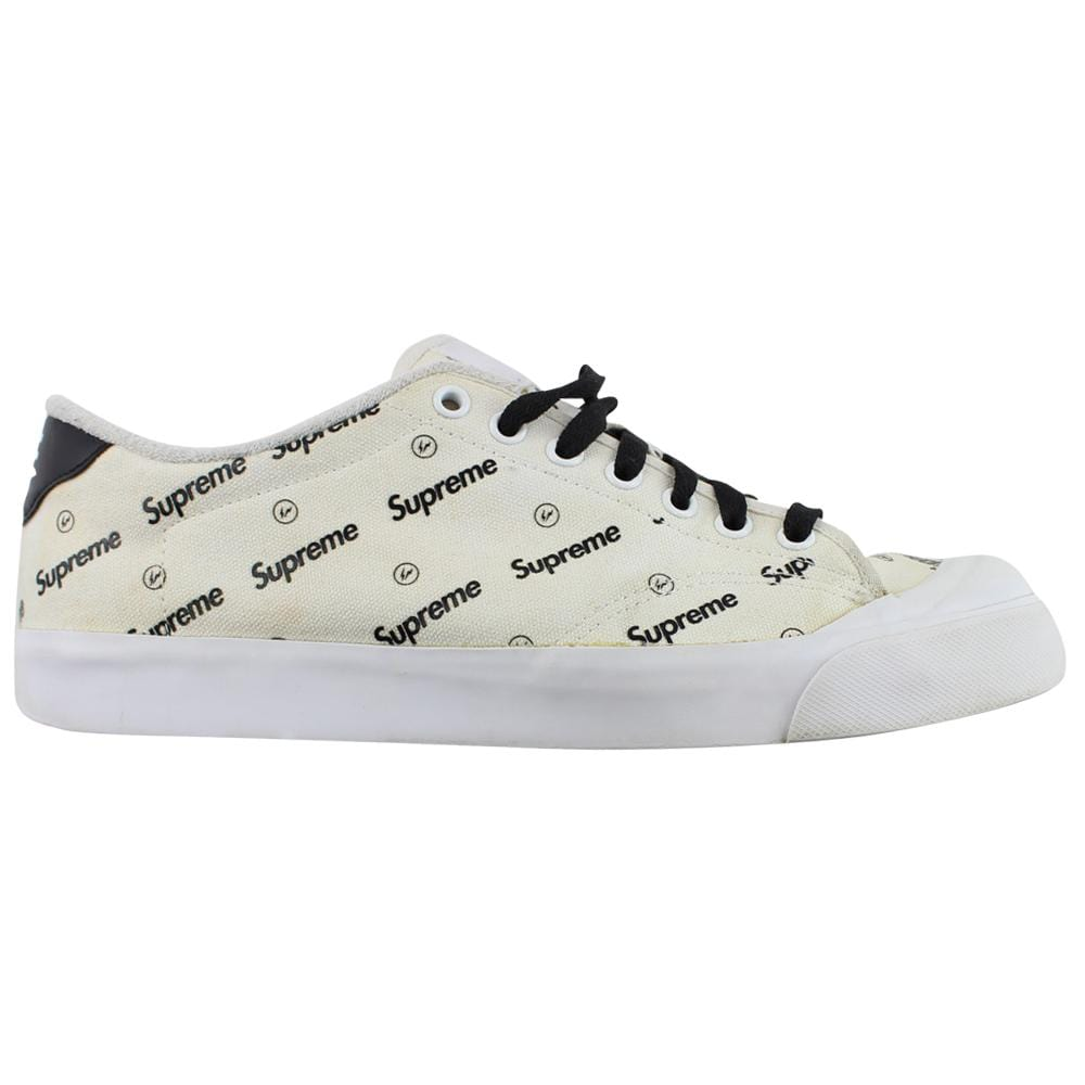Nike x Supreme Fragment All Court Lows White - SaruGeneral