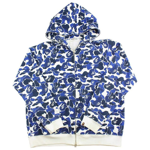 bape abc blue camo full zip - SaruGeneral