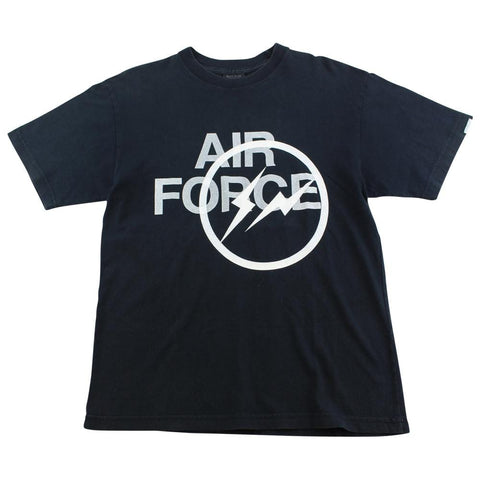 Fragment x Neighbourhood Air Force Logo Tee Black - SaruGeneral