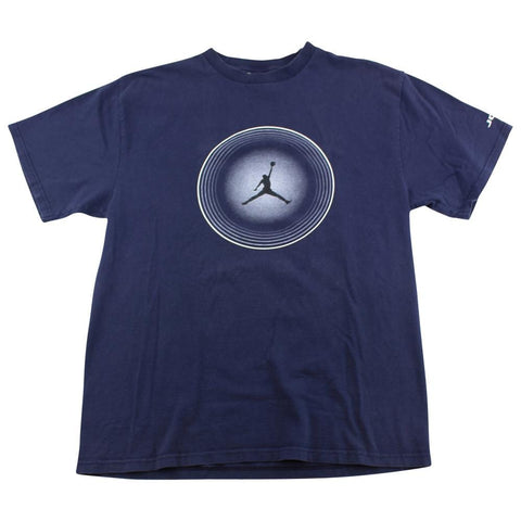 Jordan Jumpman Circle Logo Tee Navy