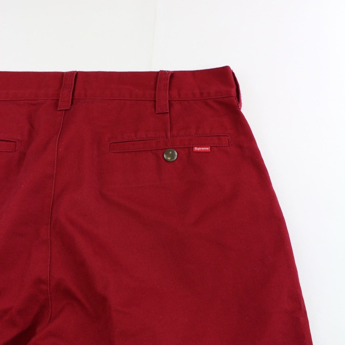 supreme dragon work pants red - SaruGeneral