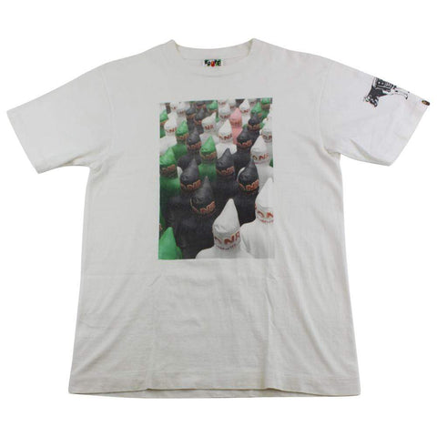 Bape x Teriyaki Boys Shark Figure Photo Tee White