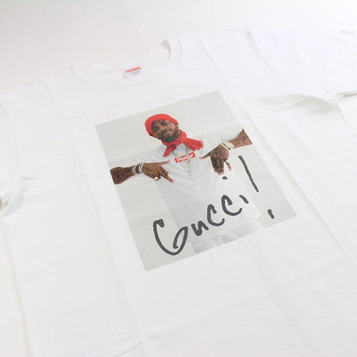 supreme x gucci mane tee white - with receipt - SaruGeneral