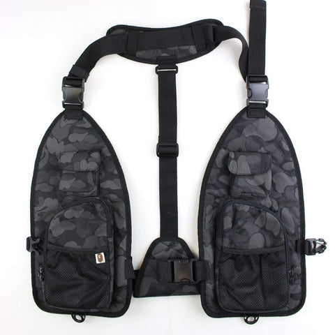 Bape Black Camo Tactical vest