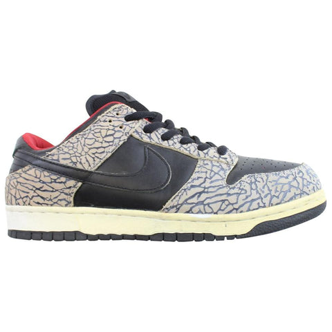 Nike ID Dunk Low Black Cement - SaruGeneral