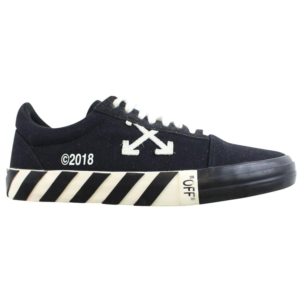 OffWhite Vulcanized Low black - SaruGeneral