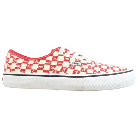 Supreme x Vans Red Checkered - SaruGeneral