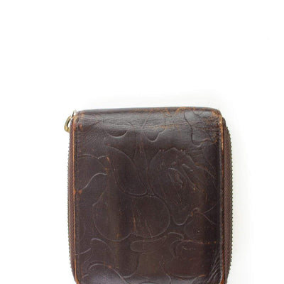 Bape Embossed Camo Leather Wallet - SaruGeneral
