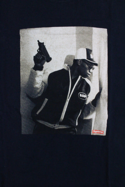 Supreme x Krs One Tee Navy - SaruGeneral