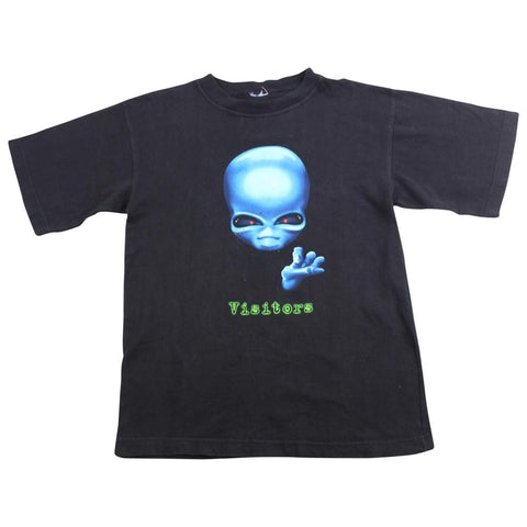 Alien Workshop Visitors Tee Black - SaruGeneral