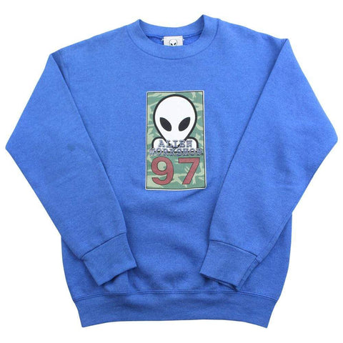 Alien Workshop 97 Crewneck Blue - SaruGeneral